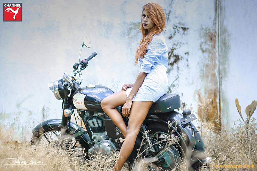 Model - Malsha Jayawardhana photography - Ramesh Lakshan
